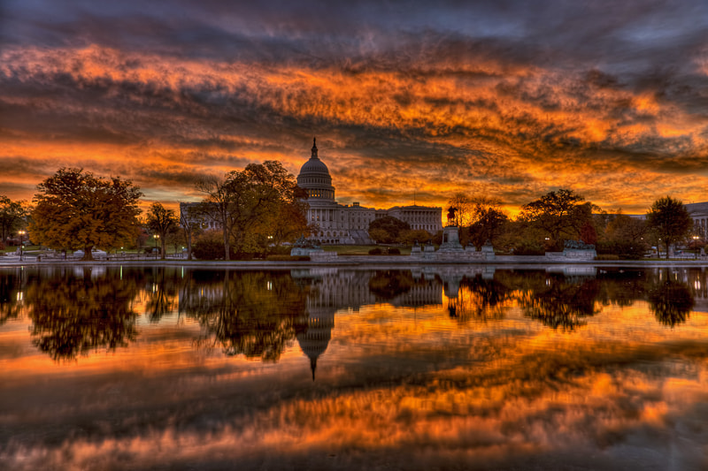 Photograph US Capitol Sunrise by Dave Wright on 500px