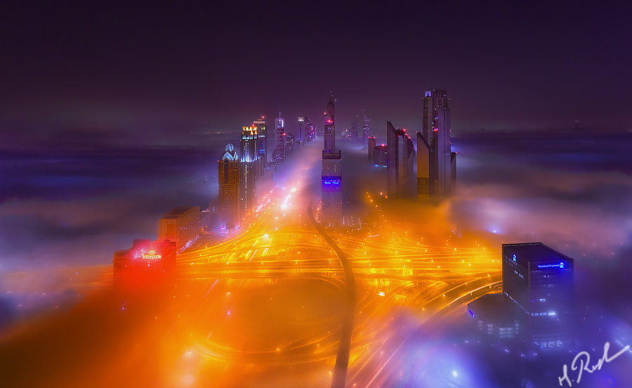 Dubai Fog by Rustam Azmi on 500px.com