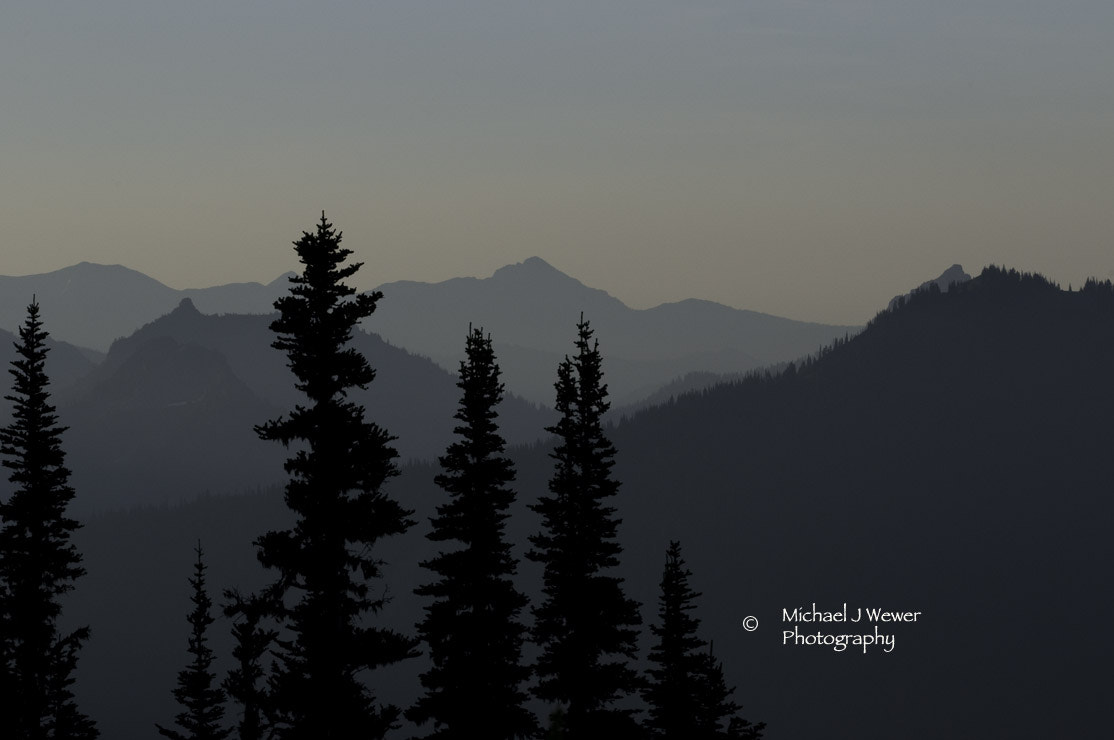 Photograph The Tatoosh Mtn Range by Michael Wewer on 500px
