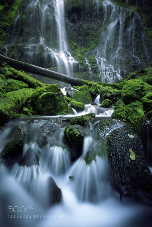 Photograph Proxy Falls, pinhole style by Zeb Andrews on 500px