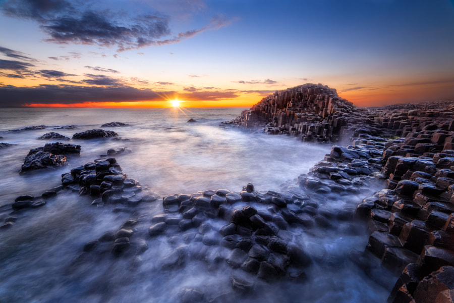 Photograph Giant's Causeway Sunset by Declan Keane on 500px