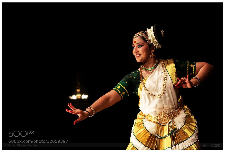 Photograph Mohiniyattam by Anil MK on 500px