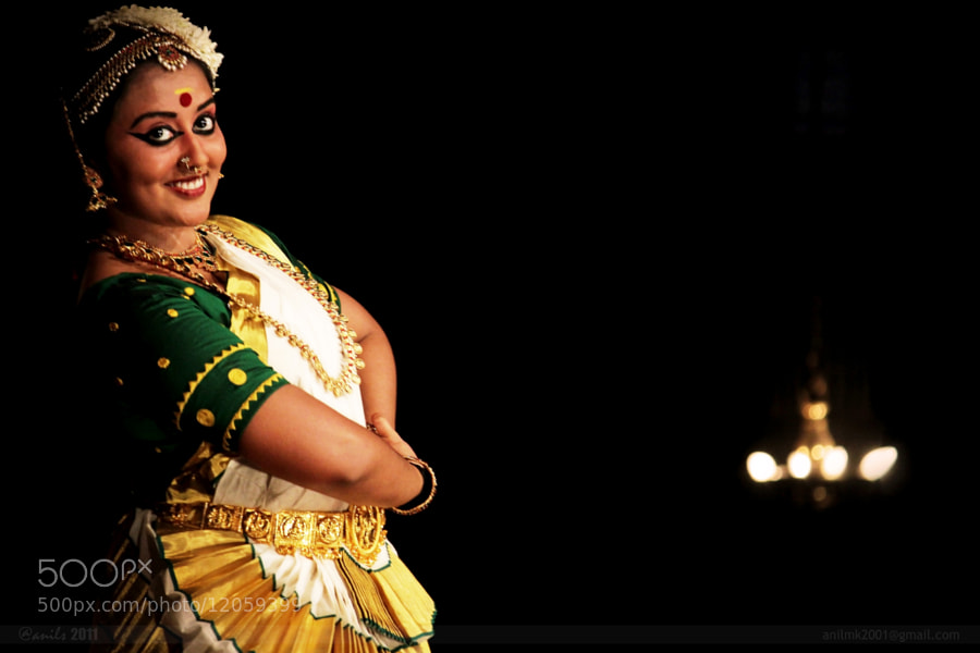 Photograph Mohiniyattam by Anil MK on 500px