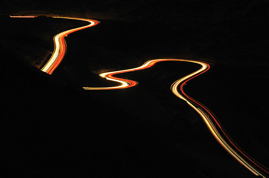 Photograph }{ Serpentine Road }{ by almalki abdullrahman on 500px
