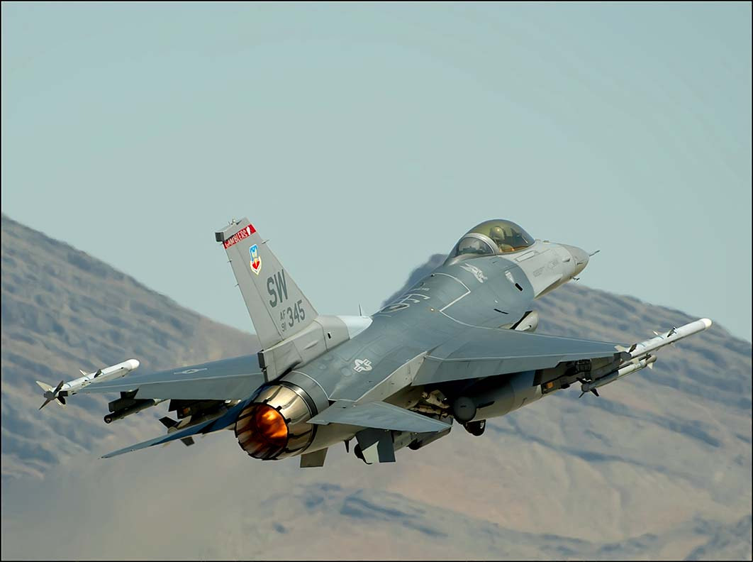 Photograph F-16 on afterburner by Richard  Small on 500px