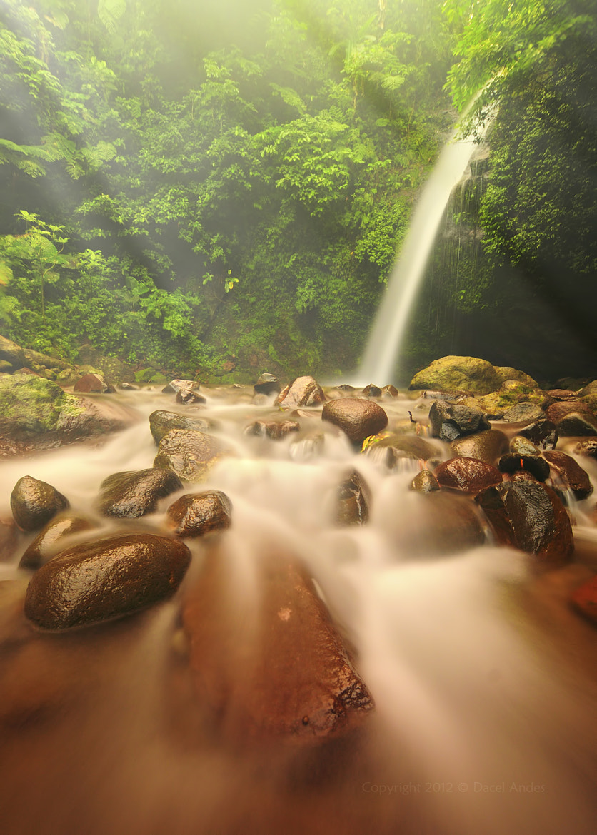 "Photograph "" Busay Falls "" by Dacel Andes on 500px"