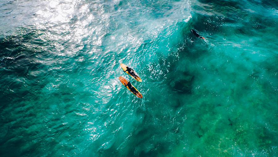 The Paddle Out XIII by Kyle Kuiper on 500px