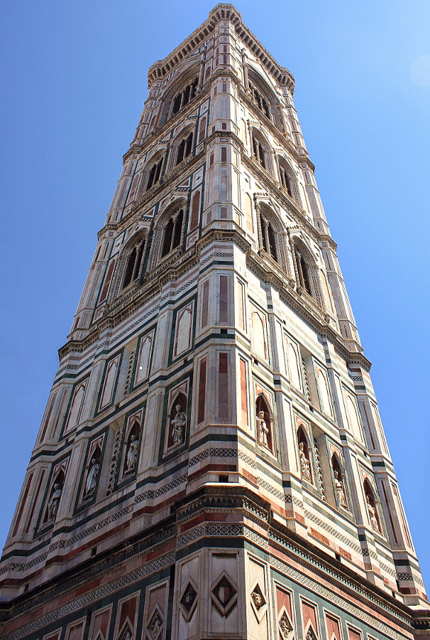 Giotto's bell tower by Martina Conti on 500px.com