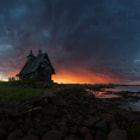 The old church on the coast of White sea by Sergey Ershov
