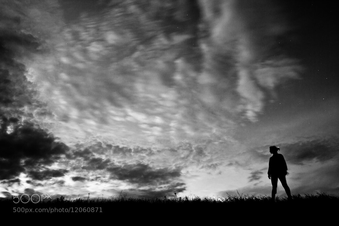 Photograph Lone Figure by Zach Becker on 500px