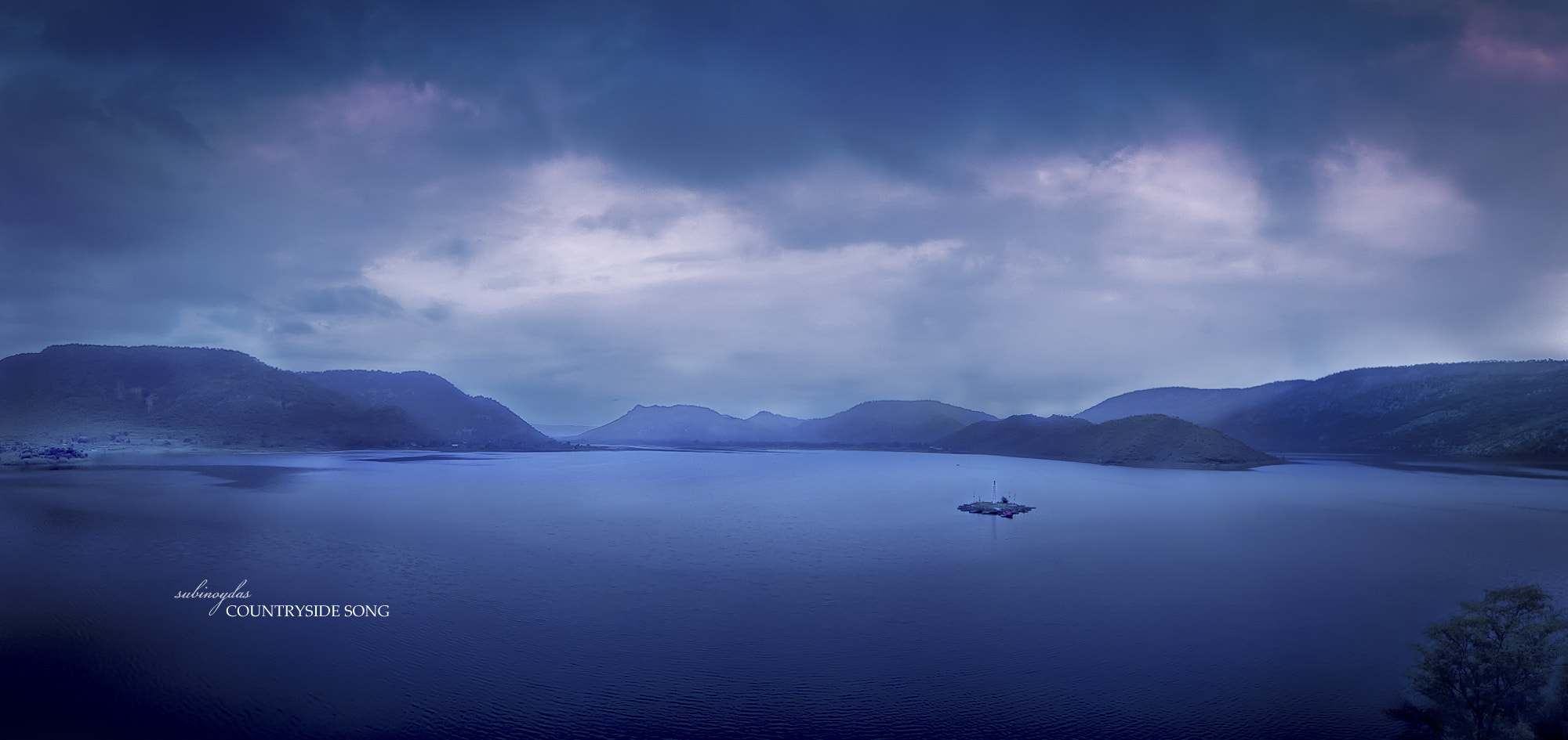 Photograph Siliserh Lake surrounded by lucy green mountains by Subinoy Das on 500px