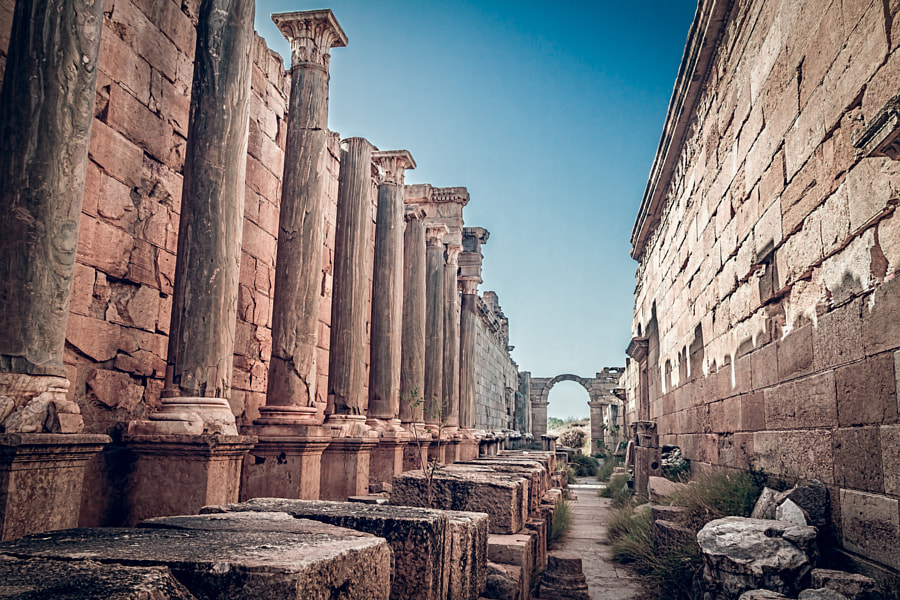 Leptis Magna by mohamed badi on 500px.com