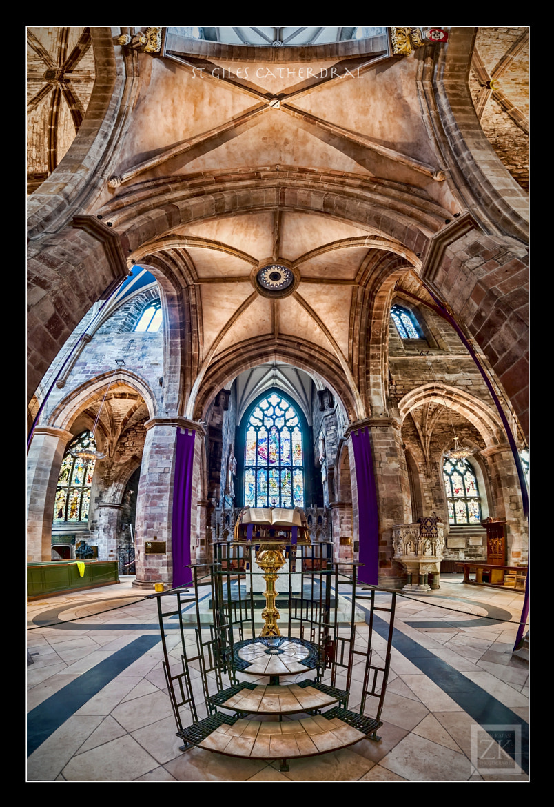 Photograph St Giles Cathedral by Zain Kapasi on 500px