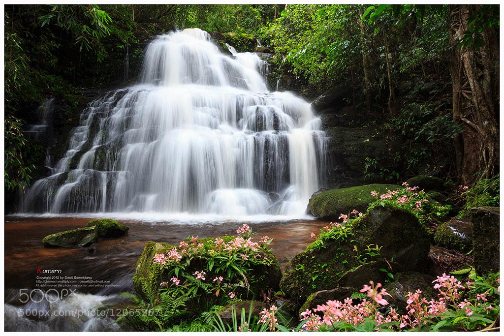 Photograph Mon-Dang waterfall by Suwit Gamolglang on 500px
