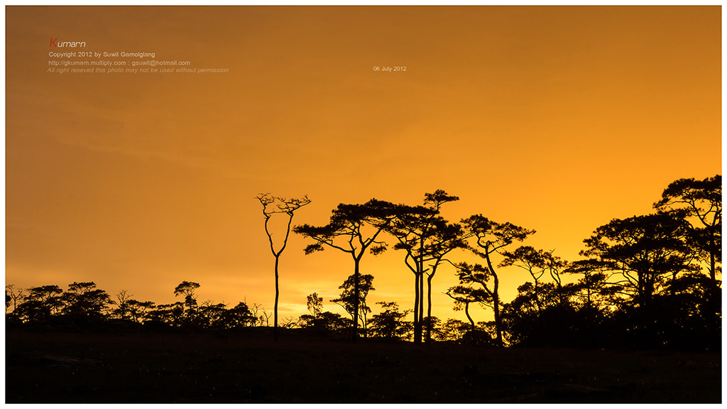 Photograph Sunset Bolovan by Suwit Gamolglang on 500px