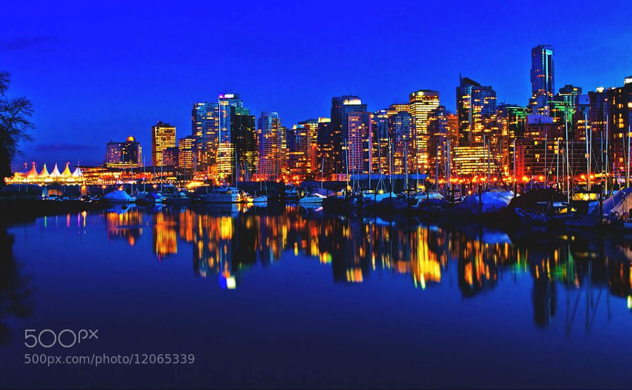 Photograph Vancouver skyline by Alain Cortes on 500px