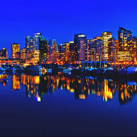 Vancouver skyline by Alain Cortes (lifeinexposures)) on 500px.com