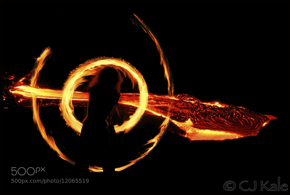 Photograph Fire dancer by Cj Kale on 500px