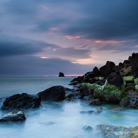 High Tide at Sunrise by Carl Mickleburgh (CMickleburgh)) on 500px.com