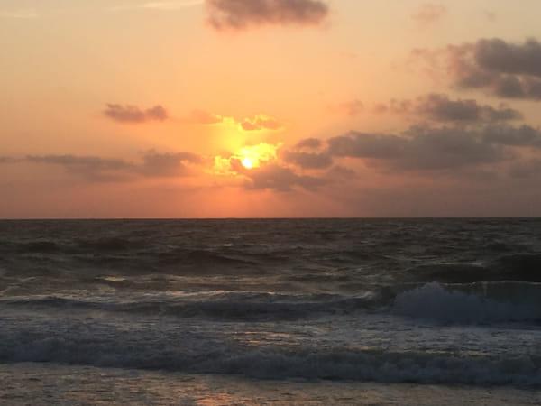 Sunrise in Ocean City, Md September 5, 2015