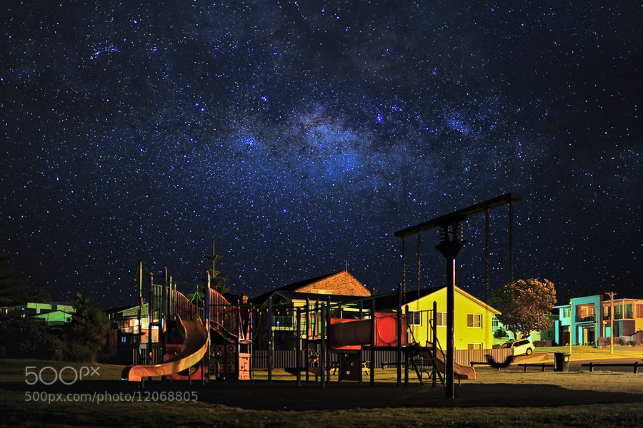 Photograph Starry Night by OaKy Isra on 500px