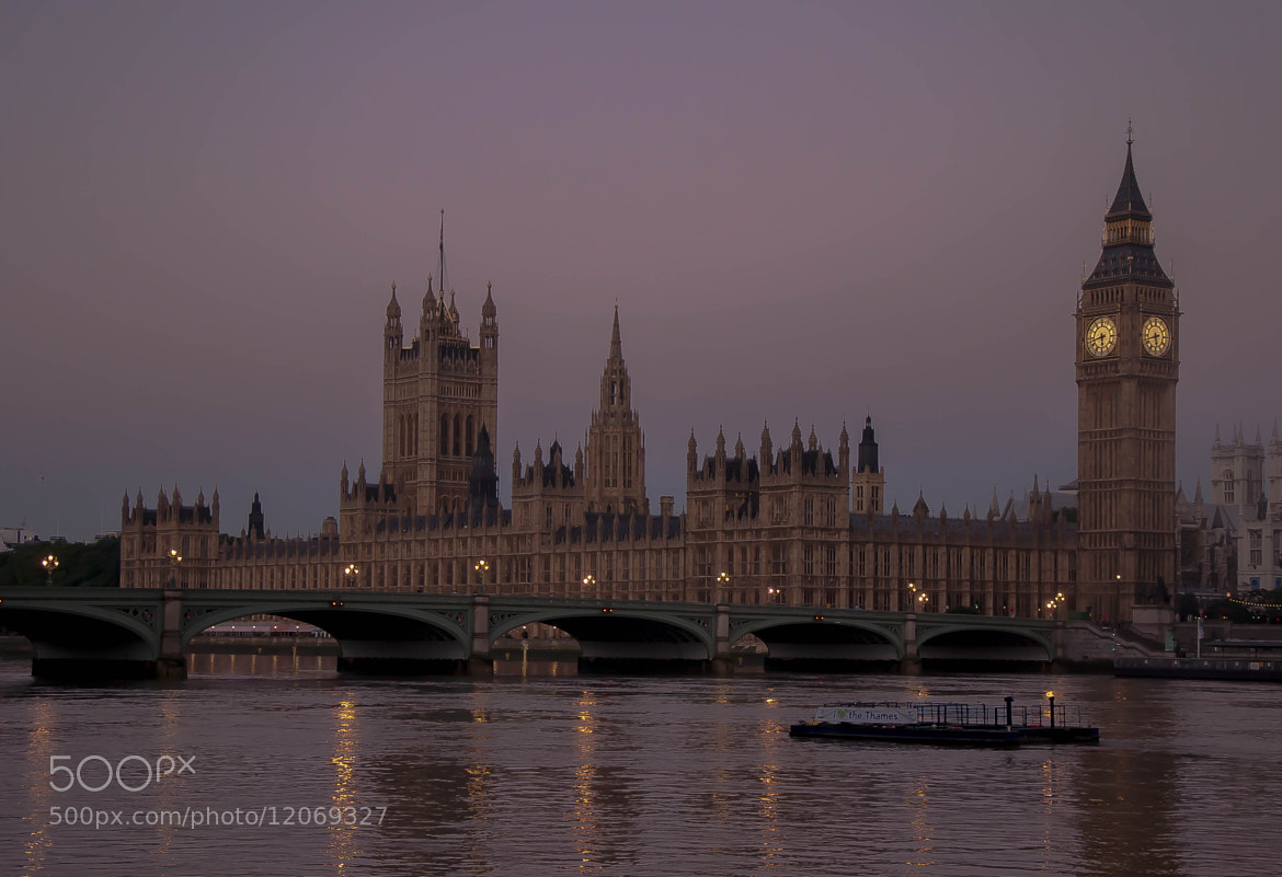 Photograph Houses of Parliament at Dawn by julian john on 500px