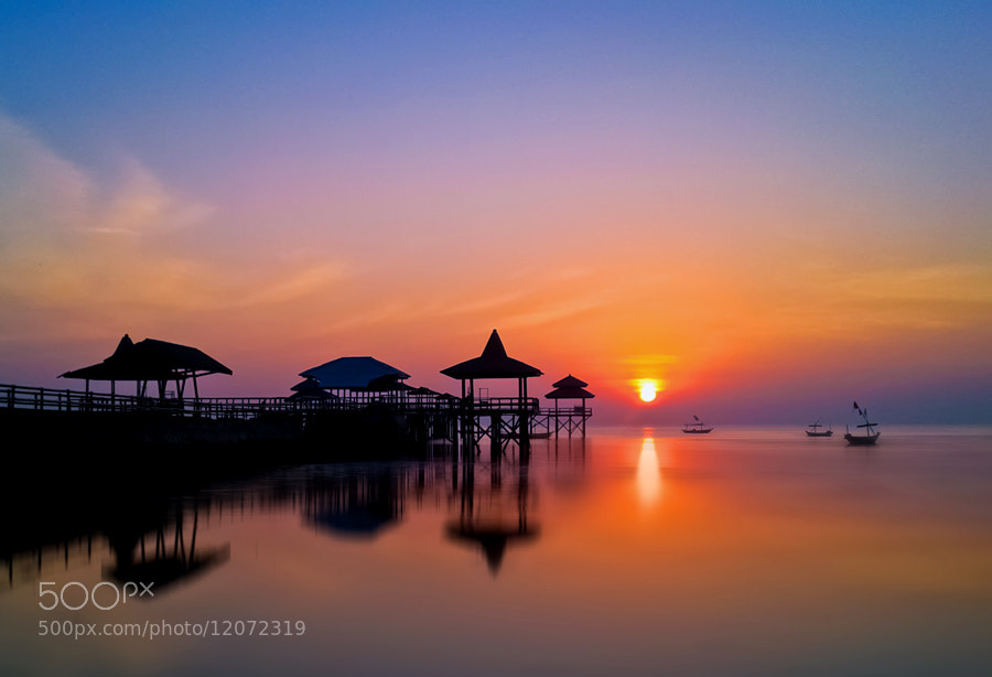 Photograph Sunrise by Wawan Gilang on 500px