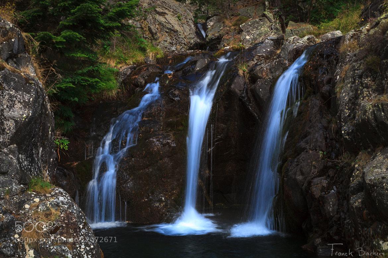 Photograph Cascade de montagne by franck bachere on 500px