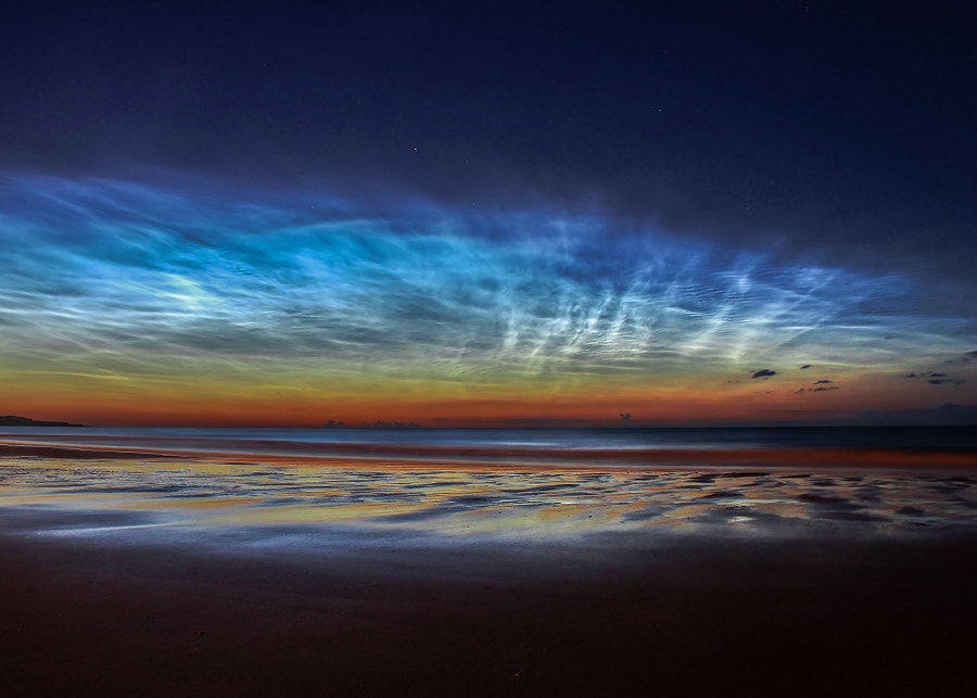 Noctilucent Clouds *Nominated for Astrophotographer of the Year 2015* by Matt Robinson on 500px.com