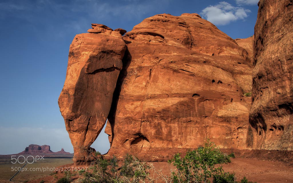 Photograph Sandstone Elephant by Len Saltiel on 500px