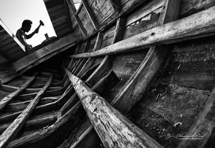 Photograph Phinisi Boat Maker by Alamsyah Rauf on 500px