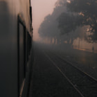 Onboard train near Varanasi early morning.