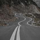 A road in the hills of Tzoumerka in western Greece.