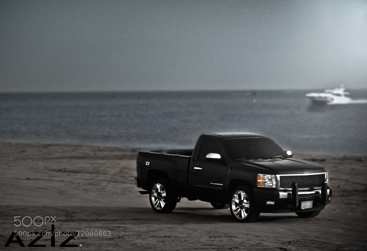 Photograph Chevrolet silverado | Beach by AZIZ Photographer on 500px