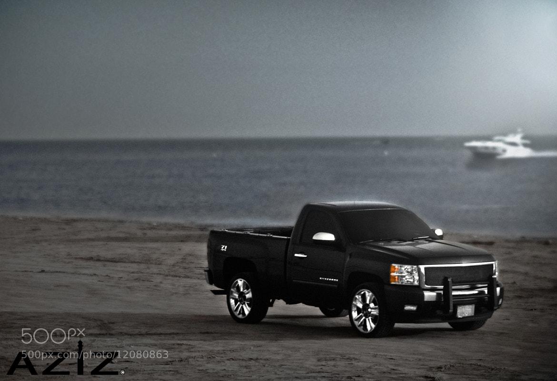 Photograph Chevrolet silverado | Beach by AZIZ Photographer on 500px