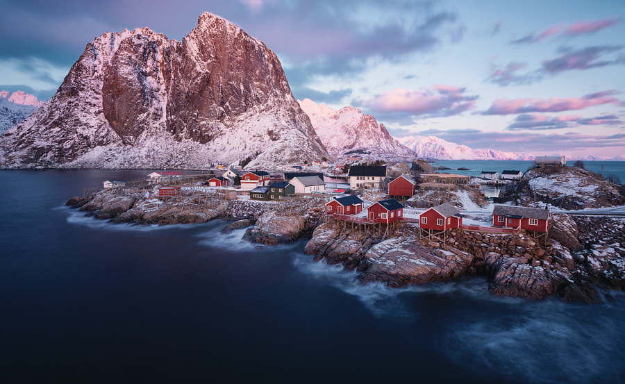 Postcard from Hamnøy by Felix Inden on 500px.com