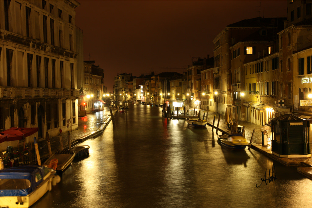 Photograph Canals in Venice by Abhishek D on 500px