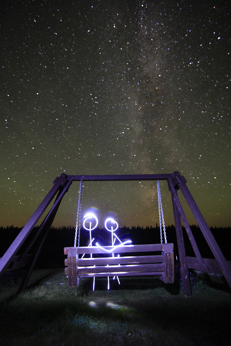 Photograph a romanstick night by Paul Lavoie on 500px