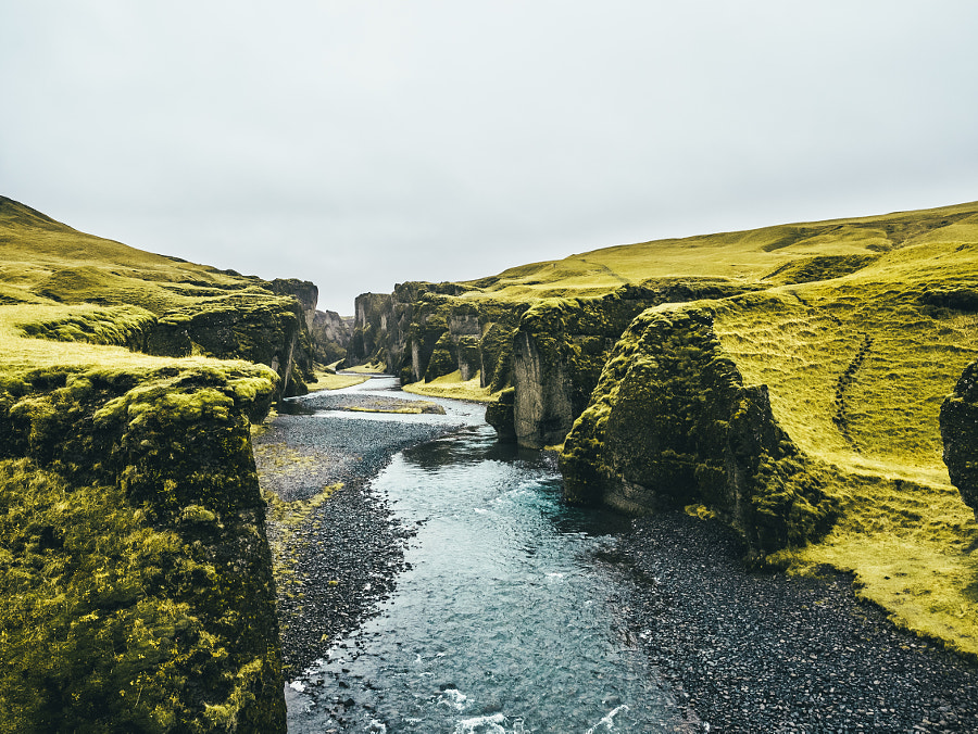 A masterpiece of nature, Fjaðrárgljúfur by Søren ° s1000 on 500px.com