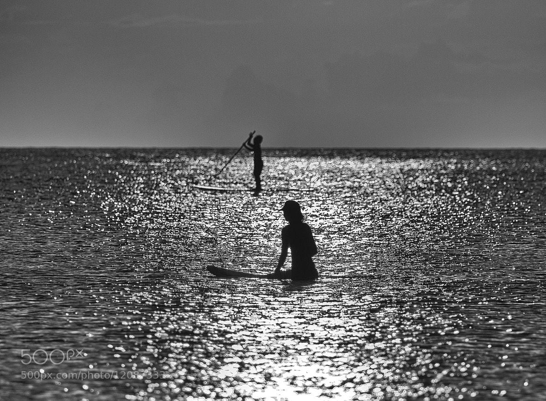 Photograph Sunset Surfer by Darren Sethe on 500px