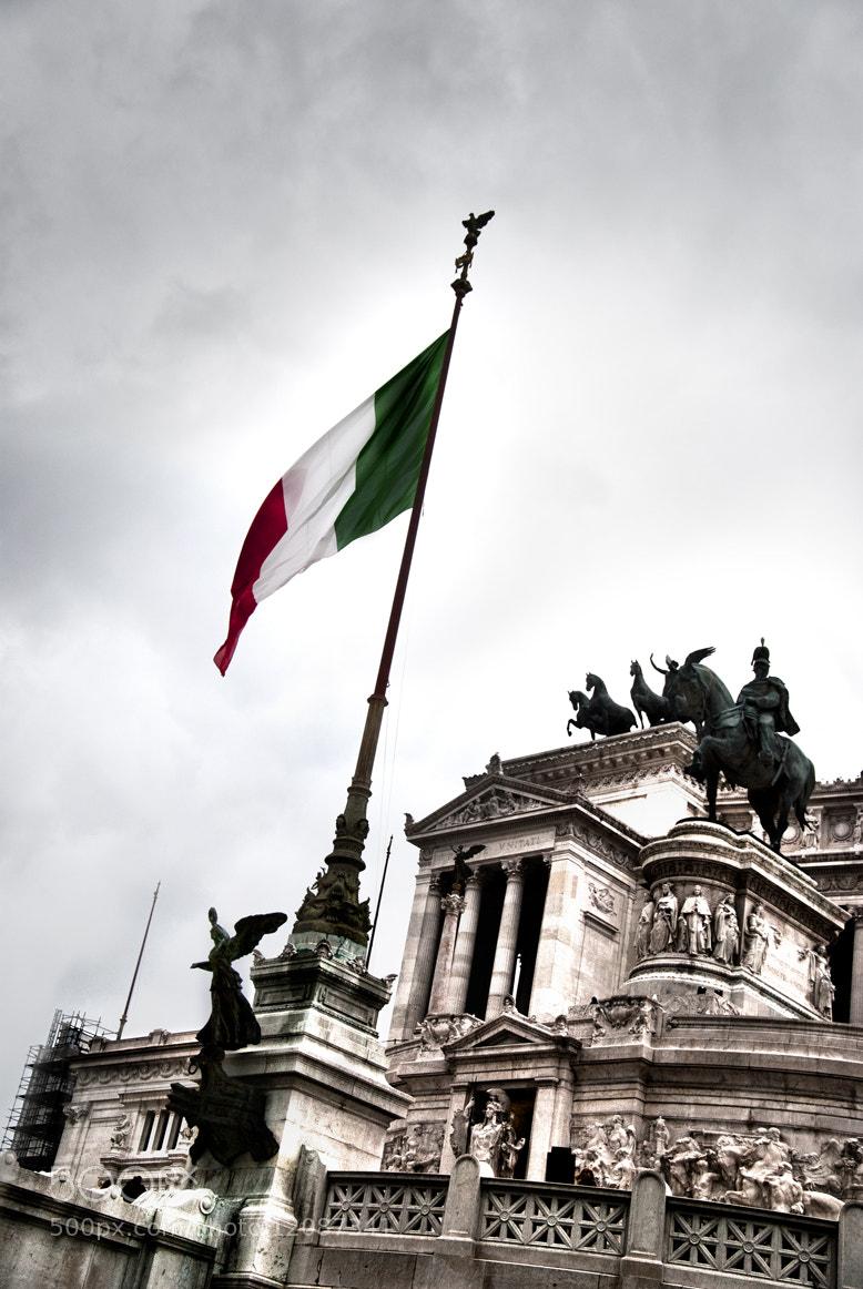 Photograph Patriotic Rome by Francesco Zappalà on 500px