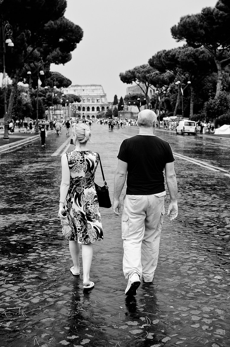 Photograph Walking to the Colosseum by Michael Avory on 500px