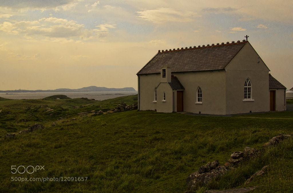 Photograph Carrickfinn Church by Kevin Colgan on 500px