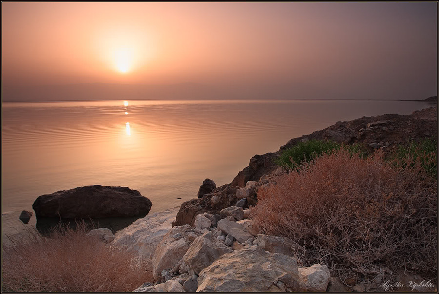 Sunrise on Dead Sea #2