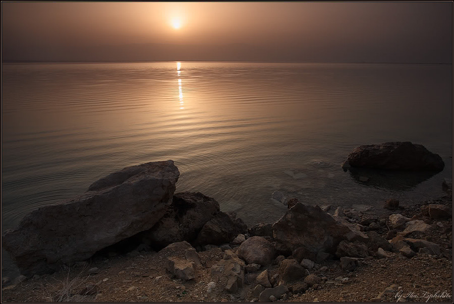 Sunrise on Dead Sea #3