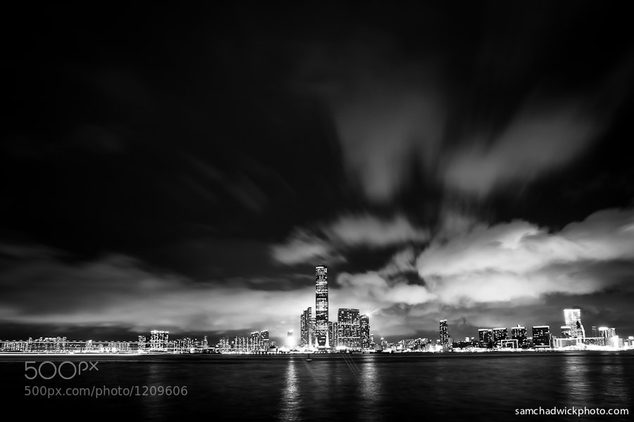 Photograph Kowloon Skyline by Sam Chadwick on 500px