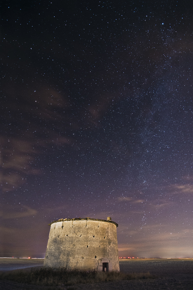 Photograph Dovecote and the stars by Daniel Viñé Garcia on 500px
