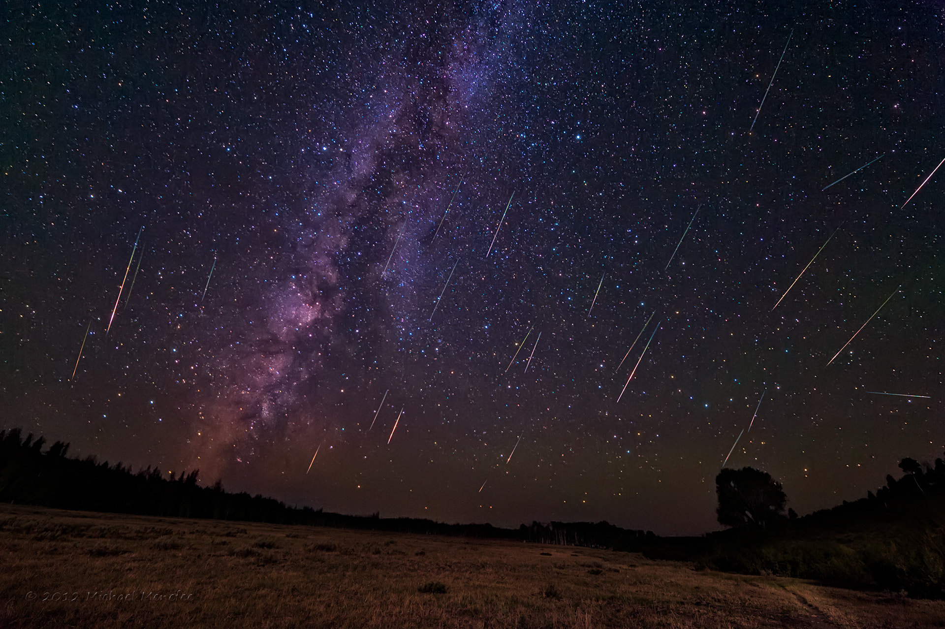 Photograph Milky Perseids by Michael Menefee on 500px