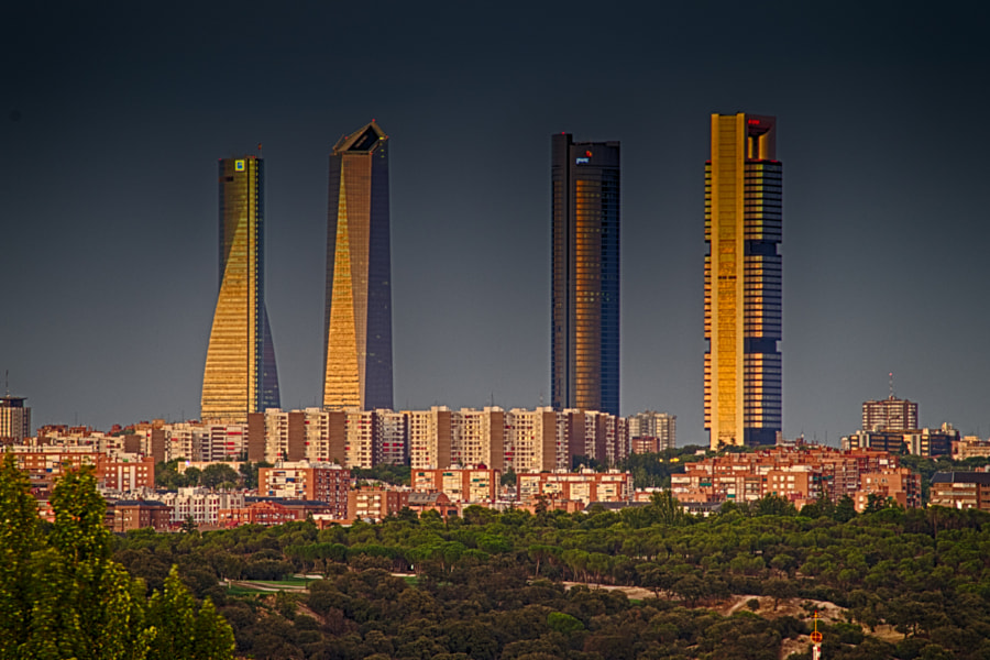 Photograph 4 torres de Madrid by Yoan Ramos on 500px