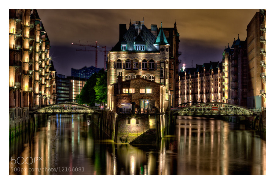 Photograph Hamburg lights by Oli Ma on 500px